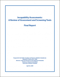 Assessment and Screening Tools