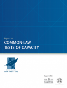Common Law Tests of Capacity