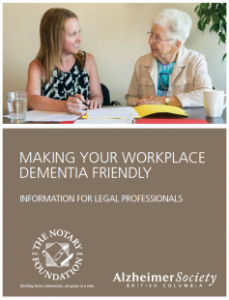 Making Your Workplace Dementia Friendly